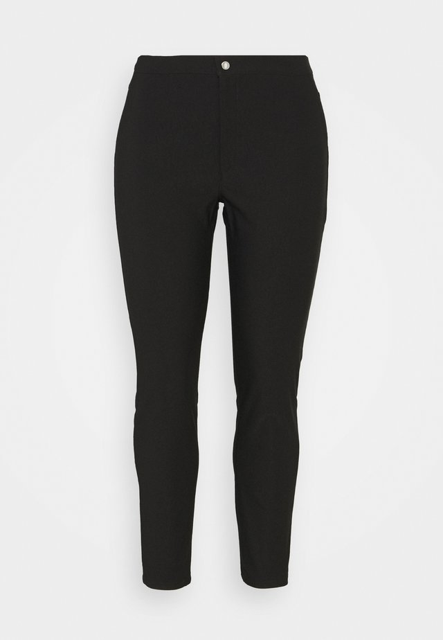 NMSOLINE SOLID PANTS - Broek - black