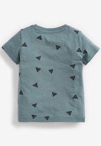 Next - 3 PACK  - Print T-shirt - blue - 5