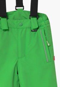 TrollKids - KIDS HOLMENKOLLEN SNOW SLIM FIT UNISEX - Snow pants - bright green - 5