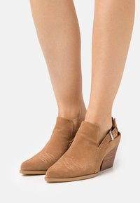 Steven New York - INDY - Classic ankle boots - chestnut - 0