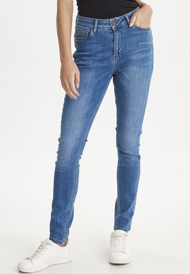 PZLIVA - Jeansy Skinny Fit - medium blue denim