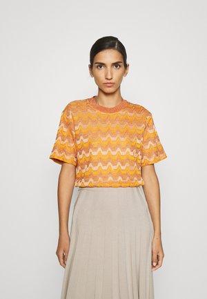 Print T-shirt - pumpkin