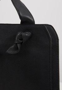 Zign - LEATHER - Handbag - black - 6