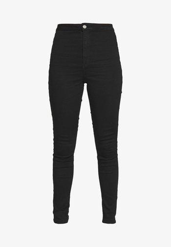 VICE HIGH WAISTED - Jeans Skinny - black