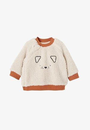 Fleece jumper - hellbeige