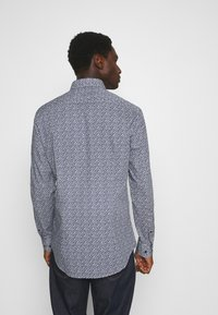 Tommy Hilfiger Tailored - LEAVE PRINT CLASSIC SLIM SHIRT - Shirt - blue - 2