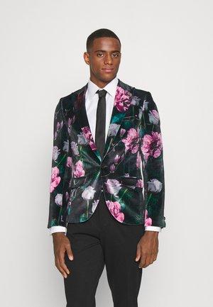 FACIONNE  - Blazer jacket - black/pink