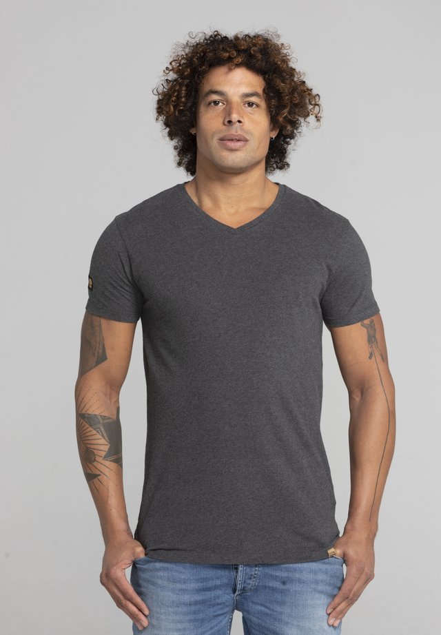 LIMITED TO 360 PIECES - Basic T-shirt - dark heather grey melange