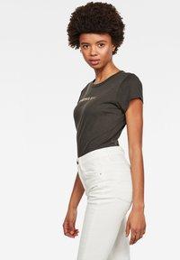 G-Star - EYBEN GRAW FOIL - T-shirt basic - asfalt - 2