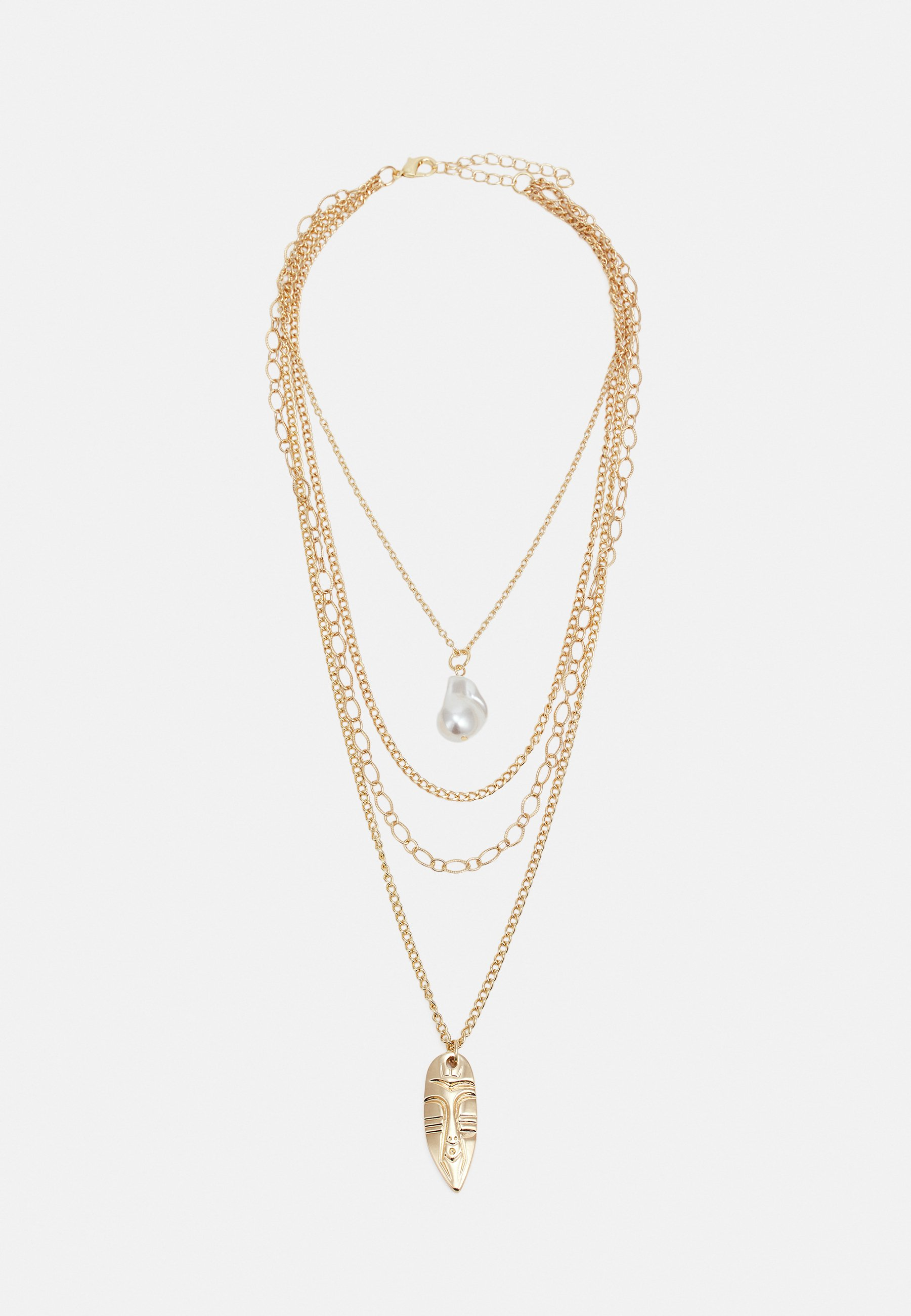 Homme INDIANA PLATE NECKLACE UNISEX - Collier