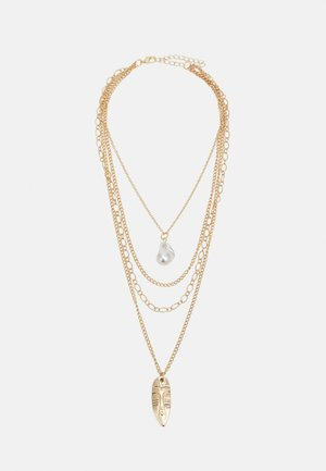 INDIANA PLATE NECKLACE UNISEX - Necklace - gold-coloured