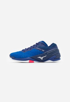 WAVE NEO - Handball shoes - reflexbluec/silver/diva pink