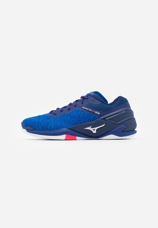 WAVE NEO - Chaussures de handball - reflexbluec/silver/diva pink