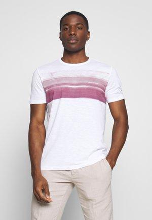 Print T-shirt - white/baroque rose