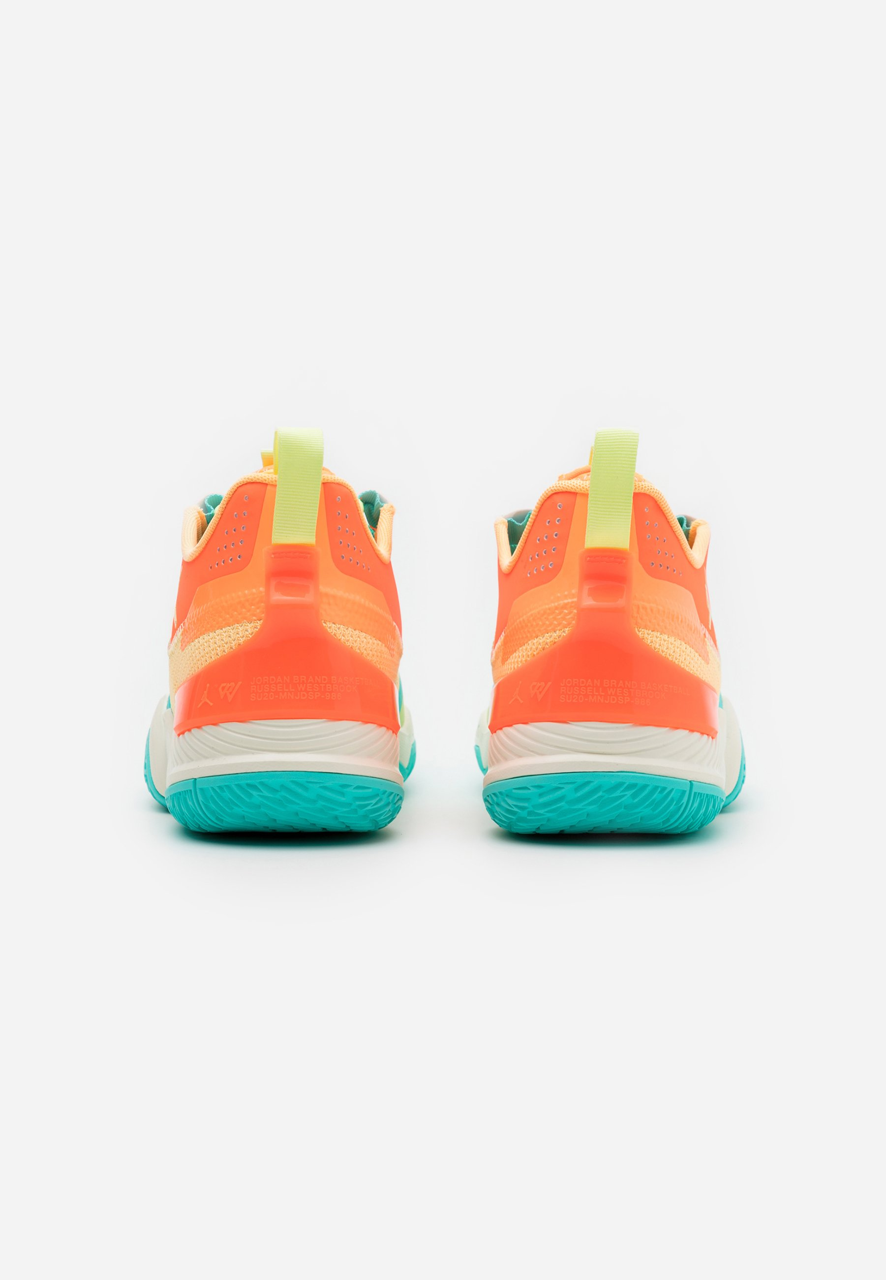 Jordan Basketballschuh - melon tint/light liquid lime/hyper crimson/orange - Herrenschuhe 2K6cr