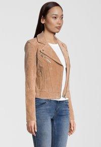 Rino&Pelle - DAMINA - Leather jacket - tan - 2