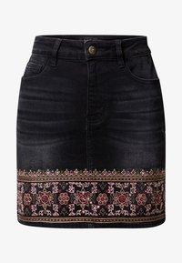 Desigual - A-snit nederdel/ A-formede nederdele - black - 4