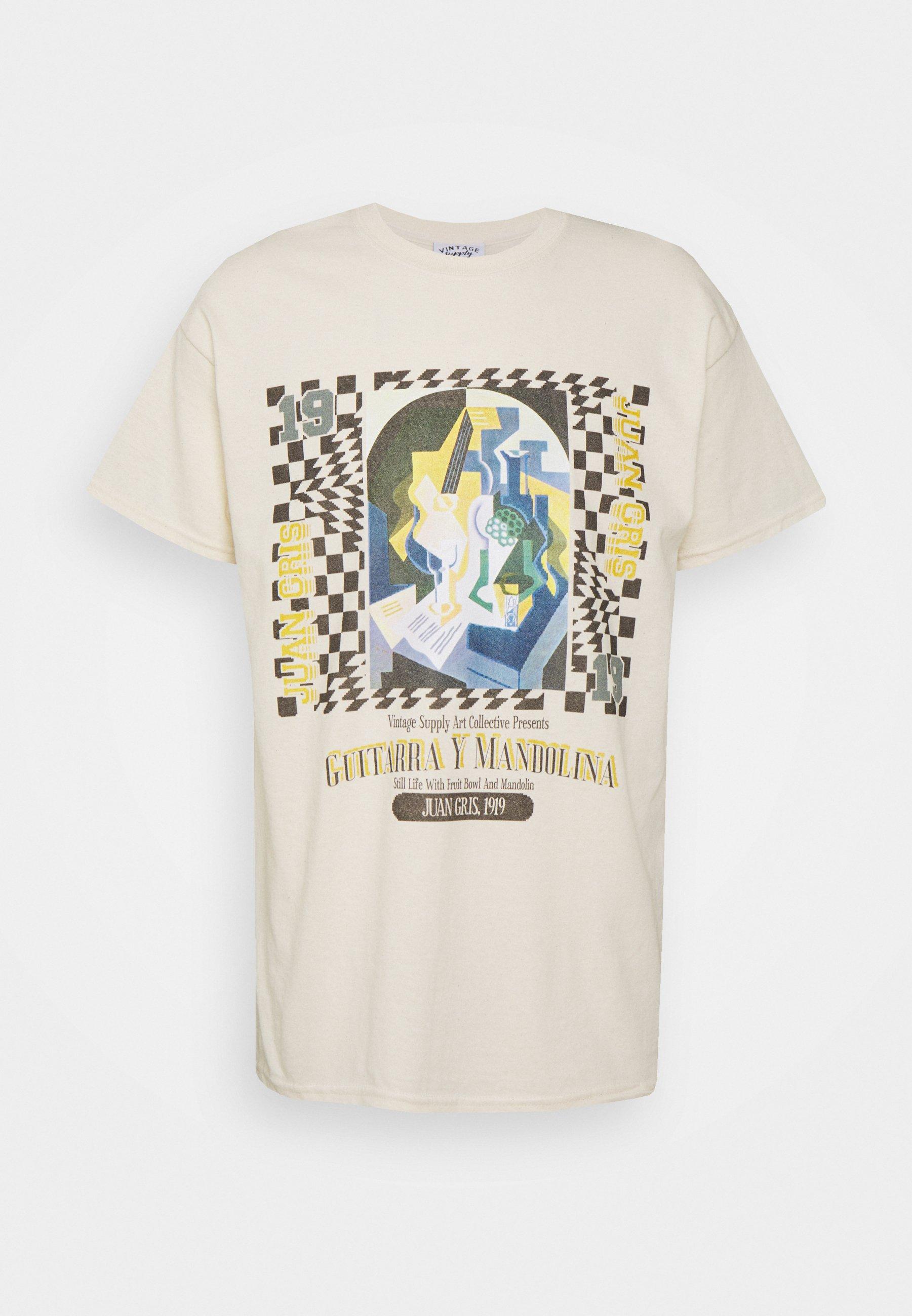 Men JUAN GRIS ART PRINT TEE - Print T-shirt