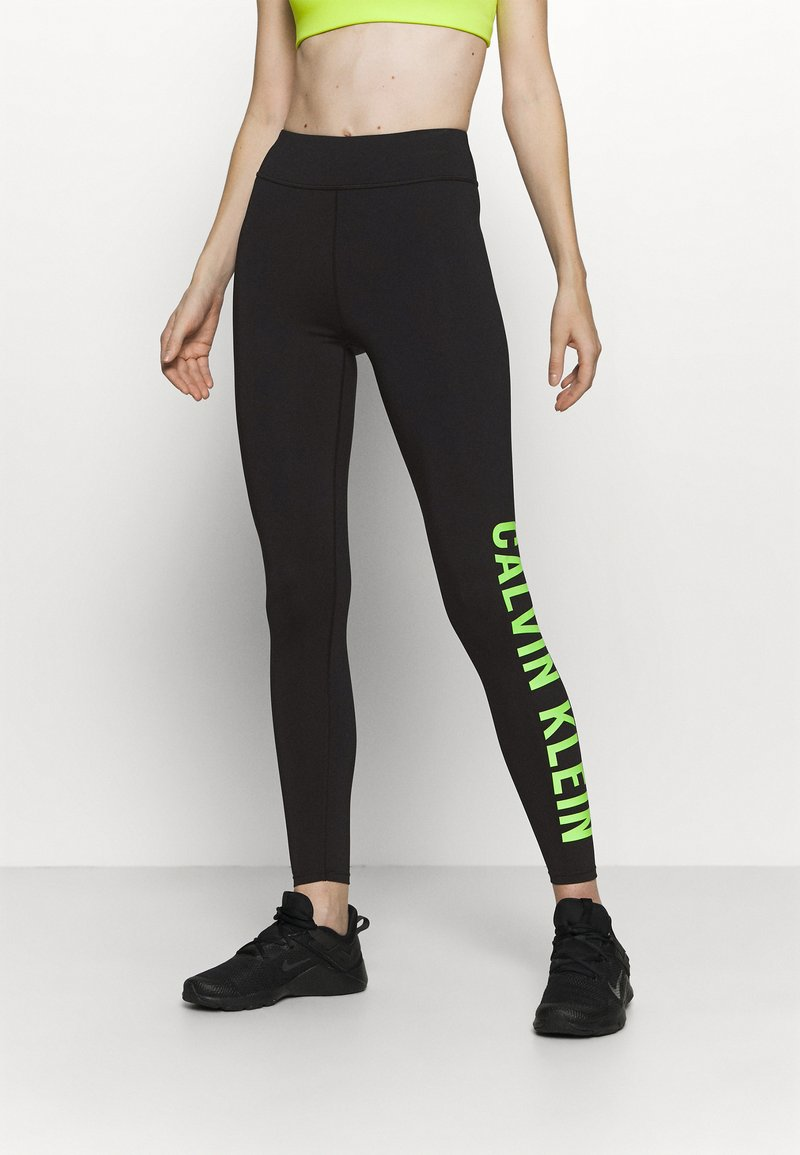 Calvin Klein Performance - FULL LENGTH  - Leggings - black