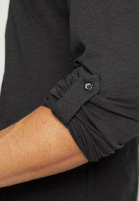 Key Largo - GINGER - Maglietta a manica lunga - anthracite - 5
