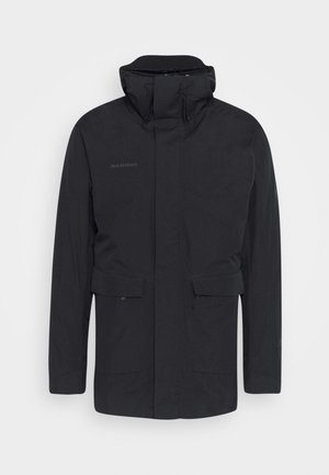 ROSEG 3 IN 1 HOODED MEN - Hardshell jacket - black/black