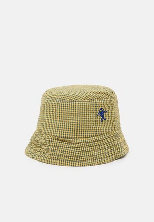 BUCKET HAT UNISEX - Čepice - yellow/iris blue