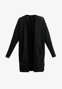 Selected Femme - SLFLANNA CARDIGAN - Cardigan - dark grey melange - 4