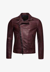 Superdry - Leather jacket - fig - 3