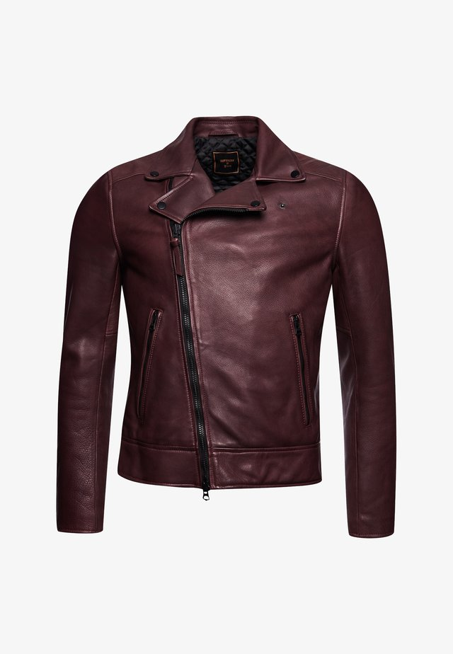 Leather jacket - fig