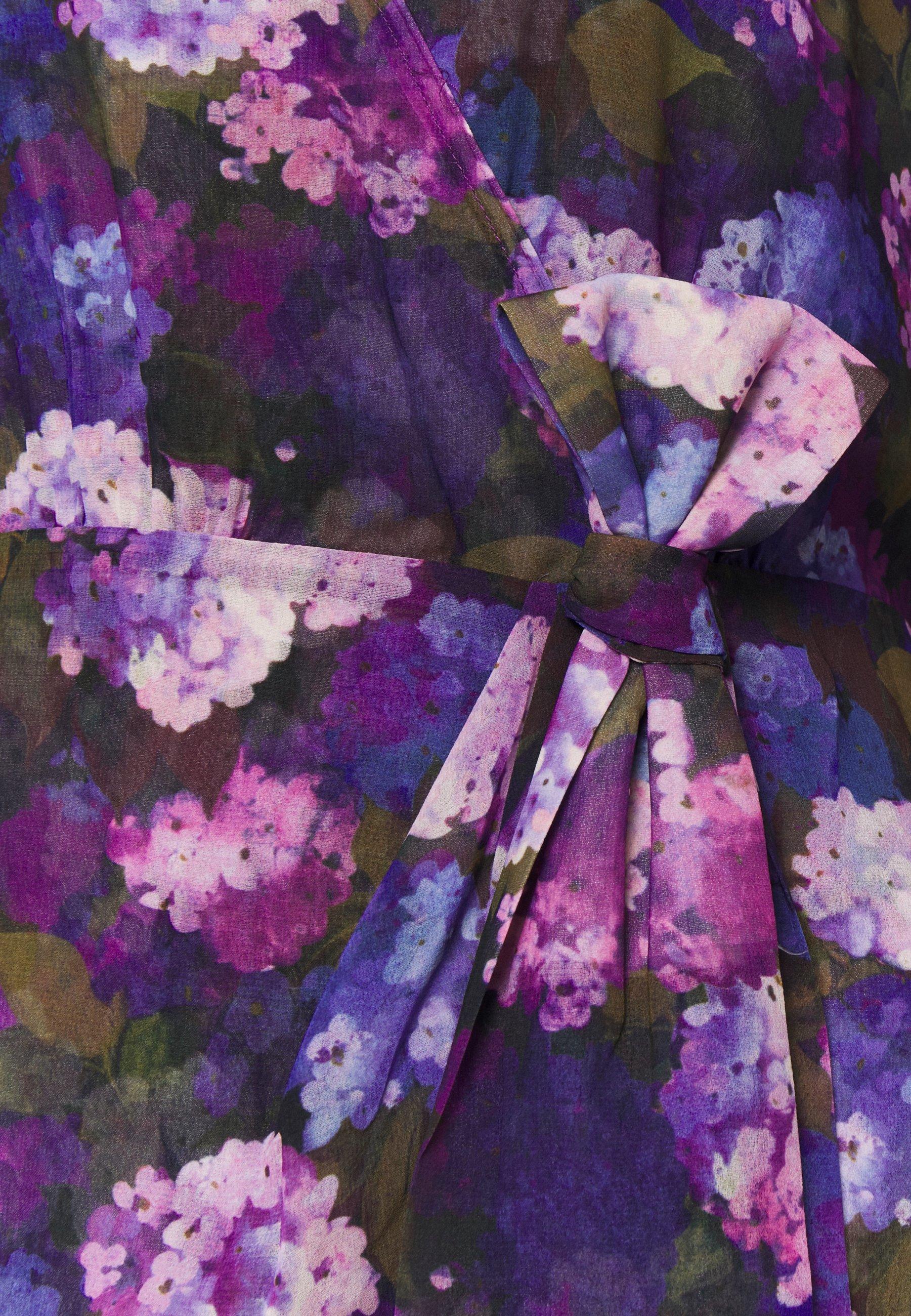 The Kooples Robe - Vestido Informal Multi-coloured