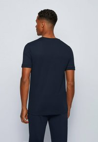 BOSS - TEE BATCH  Z - T-shirts print - dark blue - 2