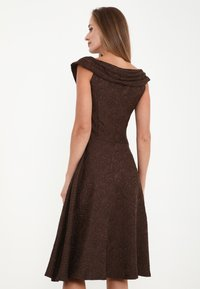 Madam-T - Cocktail dress / Party dress - braun - 2