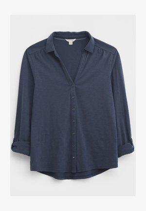ANNIE - Button-down blouse - blau