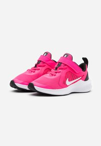 Nike Performance - DOWNSHIFTER 10 UNISEX - Zapatillas de running neutras - hyper pink/white/black - 1