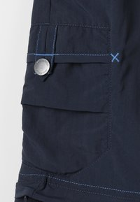 Jack Wolfskin - SAFARI ZIP OFF PANTS 2-IN-1 - Outdoor trousers - night blue - 3