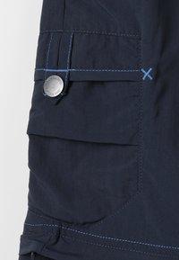 Jack Wolfskin - SAFARI ZIP OFF PANTS 2-IN-1 - Outdoorové kalhoty - night blue - 3