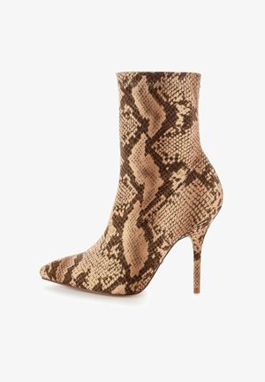 VELLETRI  - High heeled ankle boots - brown