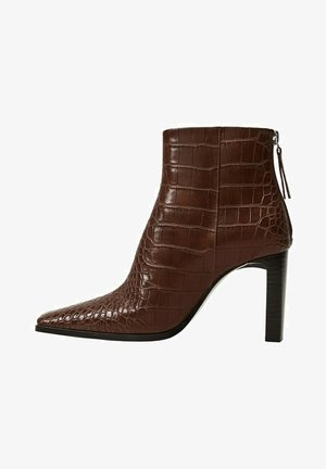 Classic ankle boots - marrón