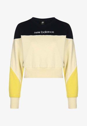 Sweatshirt - clear yellow