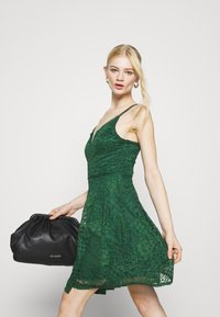 WAL G. - CAMRYN STRAPPY SKATER DRESS - Cocktail dress / Party dress - forest green - 4