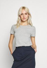 GAP - CREW 2 PACK - T-shirt basic - navy uniform/grey - 2