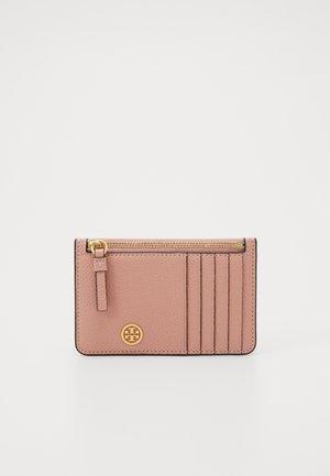 WALKER TOP ZIP CARD CASE - Wallet - pink moon