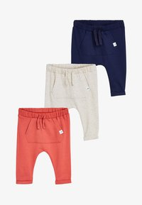 Next - JOGGERS 3 PACK - Trousers - blue - 0