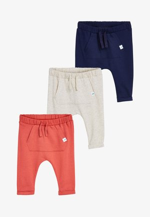 JOGGERS 3 PACK - Trousers - blue