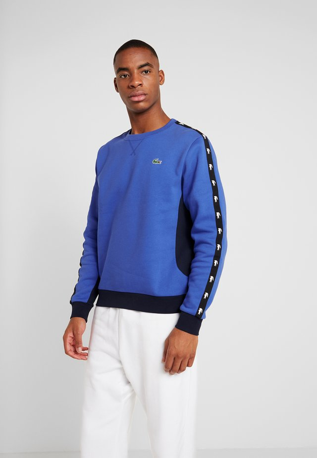 TAPERED - Sweatshirt - obscurity/navy blue