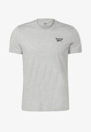 REEBOK IDENTITY T-SHIRT - T-shirt basic - grey
