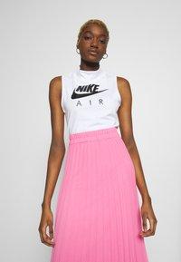Nike Sportswear - AIR TANK MOCK - Topper - white/black - 0