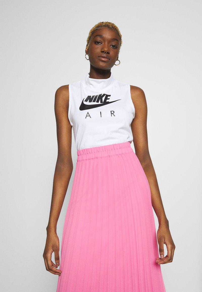 Nike Sportswear - AIR TANK MOCK - Topper - white/black