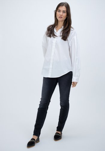 ZEWINA - Button-down blouse - white