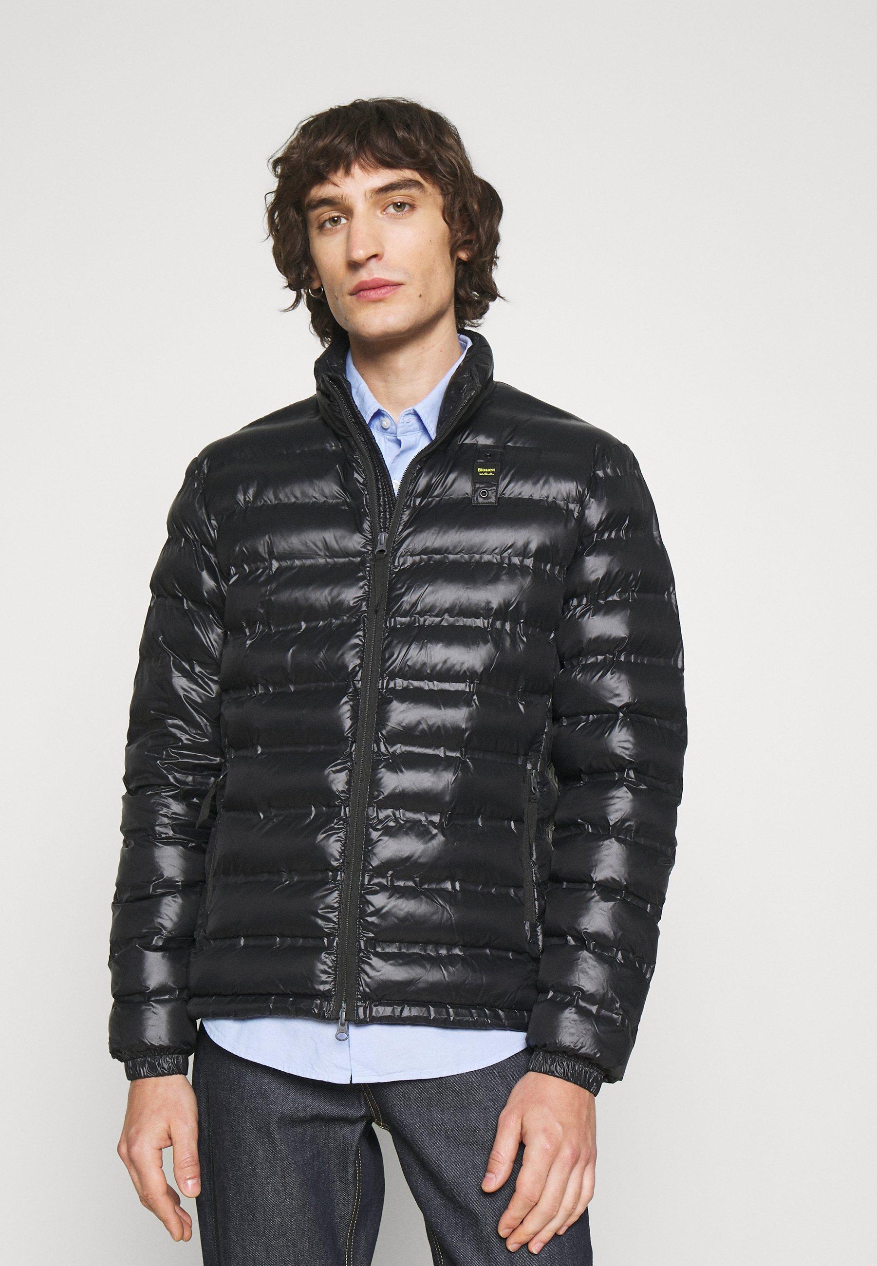Men REPREVE STAND UP COLLAR - Light jacket